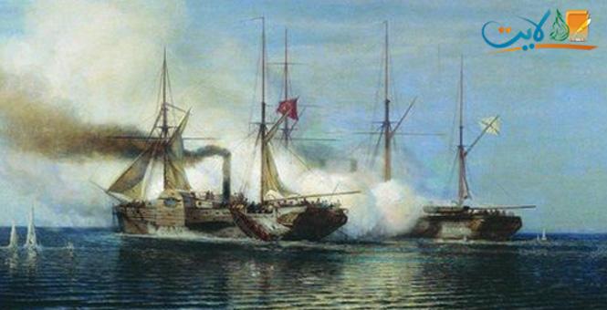 أول معركة في التاريخ بين سفينتين بخاريتين .. المصرية «براوز بحري» والروسية «فلادمير»