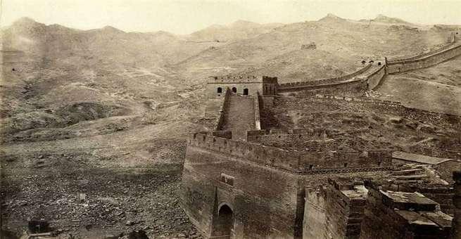 بالصور | لقطات قديمة نادرة للعاصمة الصينية بكين