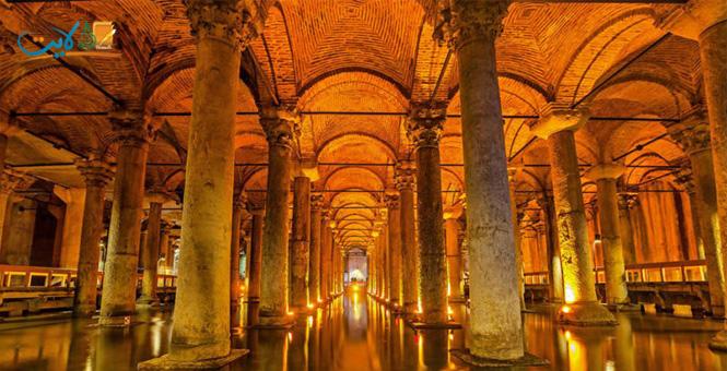 قصة «القصر المغمور» في إسطنبول