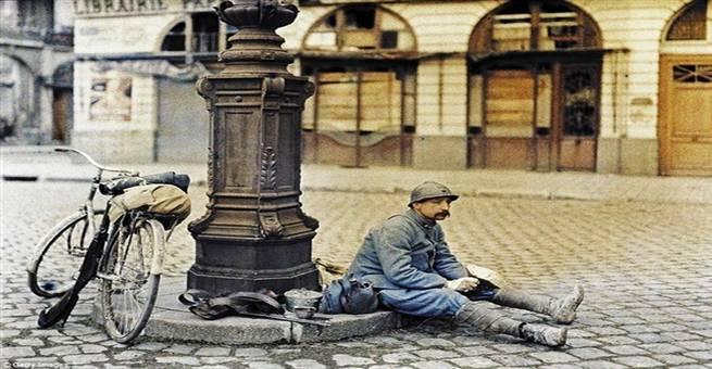 صور نادرة من الحرب العالمية الأولى