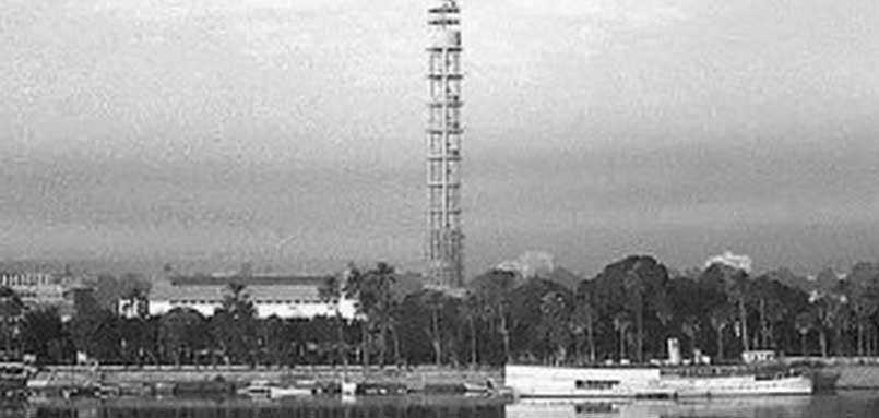 9 صور نادرة لمراحل بناء برج القاهرة