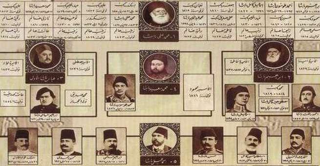 أسرة محمد علي التي حكمت مصر