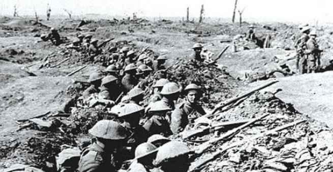 ألمانيا تعلن الحرب على فرنسا في بداية الحرب العالمية الأولى