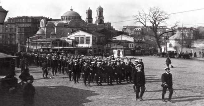 صور نادرة   اسطنبول تحت الاحتلال البريطاني