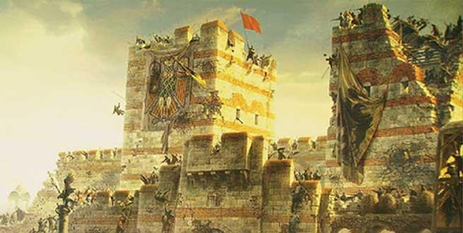 إنفوجرافيك | قصة فتح القسطنطينية