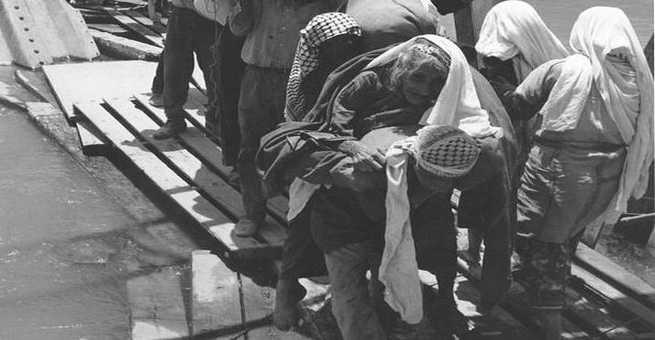 صورة نادرة لم تراها من قبل لتهجير الفلسطينيين 1948
