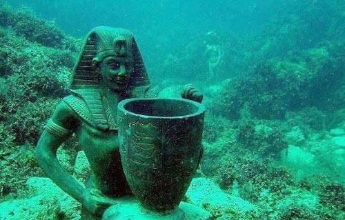 معرض أسرار مصر الغارقة  ينطلق في 3 عواصم أوربية