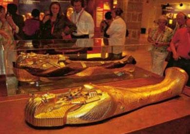 معرض «توت عنخ آمون» بالمغرب يلقى إقبالاً جماهيرياً كثيفاً