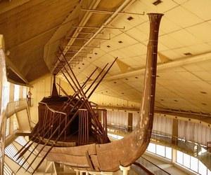 نقل 15 قطعة من مركب خوفو الثانية للمتحف الكبير