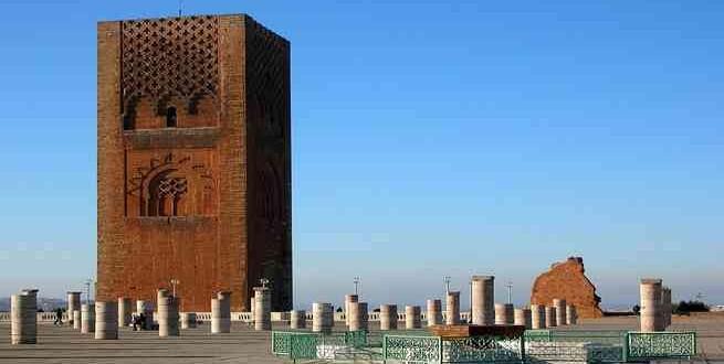 صورة جامع حسان في المغرب