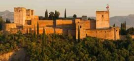 صورة فائقة الجودة لقصر الحمراء في غرناطة