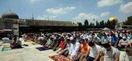 صلاة الجمعة الأولى في رمضان في المسجد الأقصى