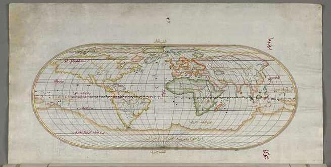 بالوثائق   بيري ريس البحار العثماني الذي اكتشف أمريكا قبل كولومبس