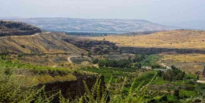 بالصور  موقع معركة اليرموك