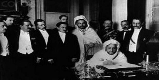 معاهدة طنجة بين المغرب وفرنسا