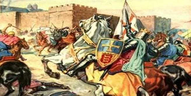 مشهد بشع من تاريخ الحروب الصليبية