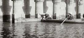 صورة نادرة | آثار أسوان غارقة في مياه الفيضان