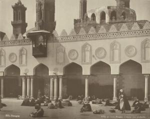 Mosque-el-Azhar-the-students
