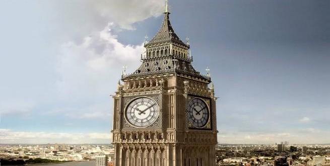 توقف ساعة بيج بن لأول مرة منذ 157 عاما