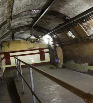 Churchill's Tube Station War Bunker Opens To The Public