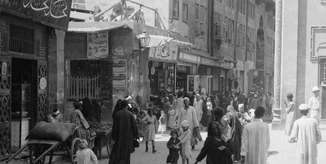 صور نادرة .. القاهرة من مائة عام
