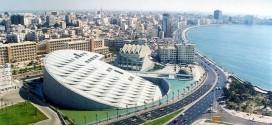 افتتاح مكتبة الإسكندرية
