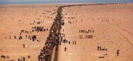 انطلاق المسيرة الخضراء من المغرب