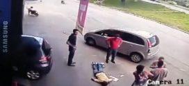 فيديو يكشف غموض حادث مذهل وغريب وقع في البرازيل