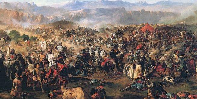 انتصار صلاح الدين الأيوبي في معركة حطين