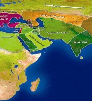 islamic world map