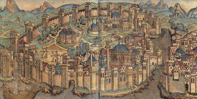 أول محاولة لفتح القسطنطينية في عهد الدولة الأموية