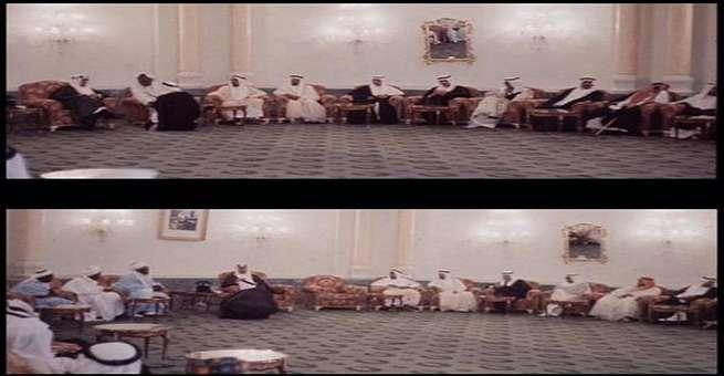 صور نادرة للملك سعود أثناء استقباله وفود الحج عام ١٩٦١