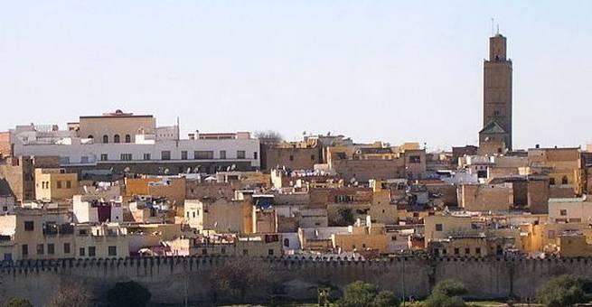جولة مصورة في مدينة مكناس التاريخية