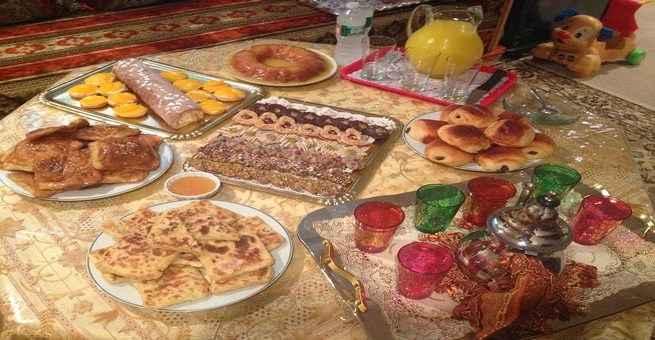 حلويات العيد في المغرب سليلة المطبخ الأندلسي
