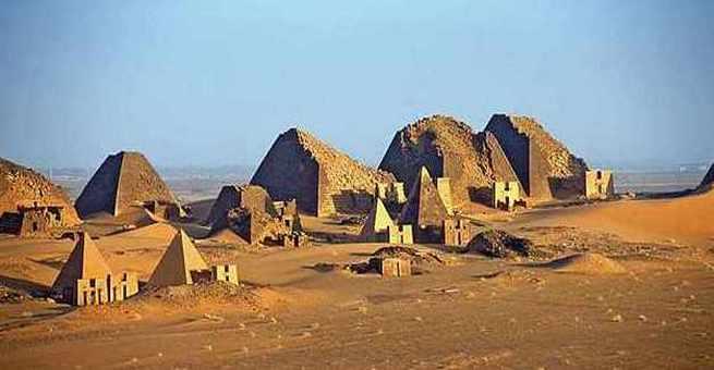 اكتشاف مدينة فرعونية في السودان