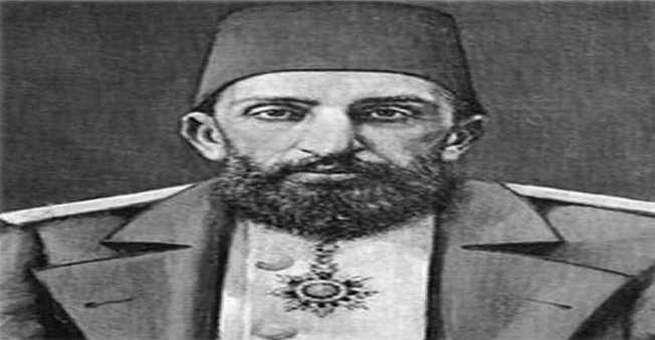 تتويج الخليفة العثماني عبد الحميد الثاني