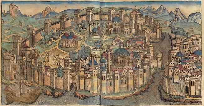 إعلان مدينة القسطنطينية كعاصمة للإمبراطورية الرومانية