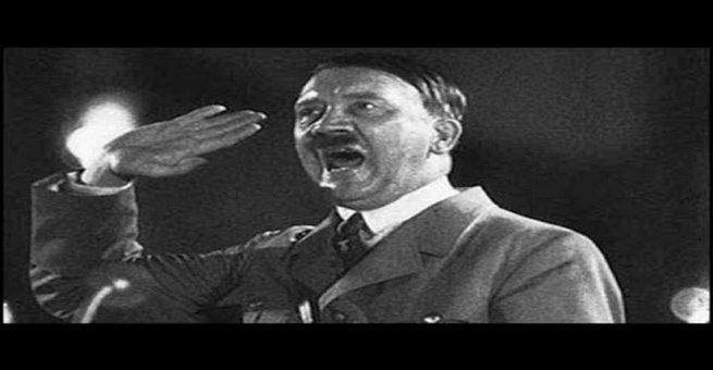 بالفيديو   خطاب تاريخي للزعيم الألماني هتلر