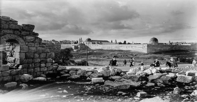 صور تاريخية نادرة لمدينة القدس في القرن الماضي