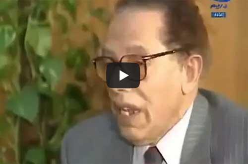 د.مصطفى محمود في لقاء نادر يحكي قصة حياته