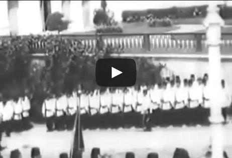 أول فيديو حقيقي لـ مراسم الجمعة للسلطان العثماني